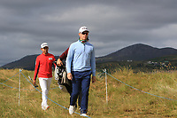 Brandon Stone (RSA) walking to the 2nd tee during Round 1 of the Dubai Duty Free Irish Open at Ballyliffin Golf Club, Donegal on Thursday 5th July 2018.<br /> Picture:  Thos Caffrey / Golffile