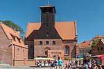Hel, (województwo pomorskie) 20.07.2016. Budynek Muzeum Rybołówstwa w Helu.