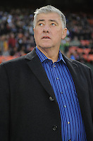 Seattle Sounder head coach Sigi Schmid.  D.C. United tied the Seattle Sounders, 0-0 at RFK Stadium, Saturday April 7, 2012.