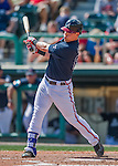 14 March 2016: Atlanta Braves catcher Blake Lalli in action during a Spring Training pre-season game against the Tampa Bay Rays at Champion Stadium in the ESPN Wide World of Sports Complex in Kissimmee, Florida. The Braves shut out the Rays 5-0 in Grapefruit League play. Mandatory Credit: Ed Wolfstein Photo *** RAW (NEF) Image File Available ***