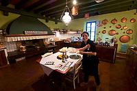 Italy, Collio. Capriva del Friuli. Agriturismo Relais Russiz Superiore (farm holidays).