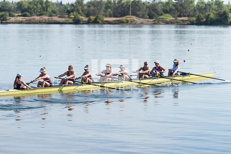 LAKE NATOMA, CA - May 15, 2016:  The 2016 PAC-12 Rowing Championships in Lake Natoma, CA.