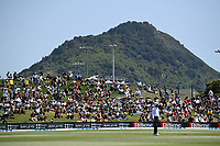 23rd November 2019; Mt Maunganui, New Zealand;  Fans and supporters during play on Day 3, 1st Test match between New Zealand versus England. International Cricket at Bay Oval, Mt Maunganui, New Zealand.  - Editorial Use