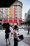 Tokyo, July 7 2013 - In front of Takashimaya departement store.