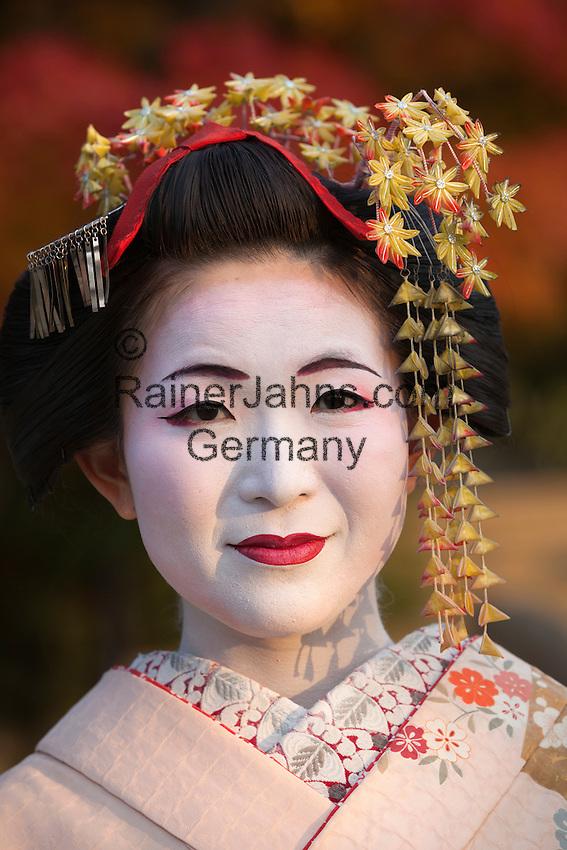 Japan, West Honshu, Kansai, Kyoto: Japanese Geisha | Japan, West-Honshu, Kansai, Kyoto: japanische Geisha