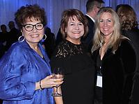 NWA Democrat-Gazette/CARIN SCHOPPMEYER Susan Kennedy (from left), Patty Creighton and Krisha Williams-Voss enjoy the Journey Gala.