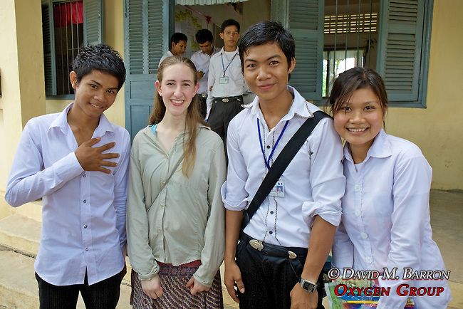 Mira Vale With Students