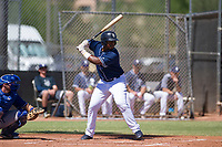San Diego Padres first baseman Jason Pineda (30) at bat during an Instructional League game against the Texas Rangers on September 20, 2017 at Peoria Sports Complex in Peoria, Arizona. (Zachary Lucy/Four Seam Images)