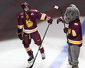 Neal Pionk (UMD - 4), Champ - The University of Denver Pioneers defeated the University of Minnesota Duluth Bulldogs 3-2 to win the national championship on Saturday, April 8, 2017, at the United Center in Chicago, Illinois.