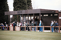 General view of Brentwood FC Football Ground, Brentwood Centre, Doddinghurst Road, Brentwood, Essex, pictured on 12th March 1994