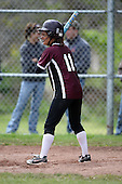 Elba Lancers junior varsity softball against the Attica Lady Devils during a Genesee Region League game at Attica High School on May 15, 2010 in Attica, New York.  (Copyright Mike Janes Photography)