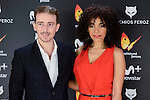 Victor Clavijo and Montse Pla attends to the Feroz Awards 2017 in Madrid, Spain. January 23, 2017. (ALTERPHOTOS/BorjaB.Hojas)