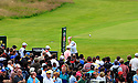 Ernie Els (RSA) in action during the final round of the 141st Open Championship played at Royal Lytham & St Annes, Lytham St Annes, Lancashire, England. 19 - 22 July 2012 (Picture Credit / Phil Inglis)