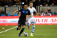 San Jose, CA - Saturday March 02, 2019: Major League Soccer (MLS) match between the San Jose Earthquakes and the Montreal Impact at Avaya Stadium.