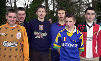 At the schools cross country championship in Knockreer, Killarney on Thursday were Aaoron Cahillane, Stuart Delaney, Oran Boyle, William Managan, James Nagle and Stephen Clifford, Miltown.<br />