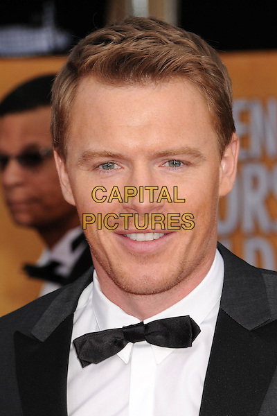 Diego Klattenhoff.Arrivals at the 19th Annual Screen Actors Guild Awards at the Shrine Auditorium in Los Angeles, California, USA..27th January 2013.SAG SAGs headshot portrait black white shirt tuxedo bow tie grey gray .CAP/ADM/BP.©Byron Purvis/AdMedia/Capital Pictures