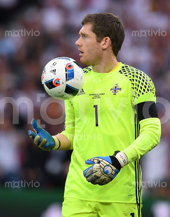 FUSSBALL EURO 2016 GRUPPE C IN PARIS Nordirland - Deutschland     21.06.2016 Torwart Michael McGovern (Nordirland)