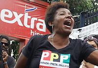 17.02.2019 - Protesto contra a morte de jovem no extra em SP