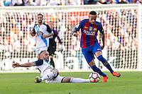 FC Barcelona's Neymar Santos Jr during the La Liga match between Futbol Club Barcelona and Deportivo de la Coruna at Camp Nou Stadium Spain. October 15, 2016. (ALTERPHOTOS/Rodrigo Jimenez) NORTEPHOTO.COM