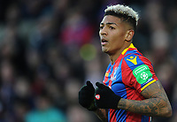 Crystal Palace's Patrick van Aanholt<br /> <br /> Photographer Ashley Crowden/CameraSport<br /> <br /> The Premier League - Crystal Palace v Burnley - Saturday 13th January 2018 - Selhurst Park - London<br /> <br /> World Copyright &copy; 2018 CameraSport. All rights reserved. 43 Linden Ave. Countesthorpe. Leicester. England. LE8 5PG - Tel: +44 (0) 116 277 4147 - admin@camerasport.com - www.camerasport.com