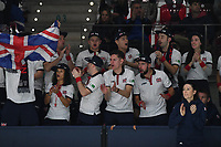 20th November 2019, Caja Magica, Madrid, Spain; Davies Cup tennis finals, Great Britain versus Netherlands;   supporters anglais TENNIS : Davis Cup Finale - Spain - 20/11/2019 ChrysleneCaillaud/Panoramic