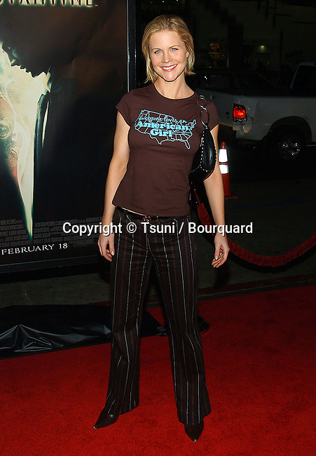 Josie Davis  arriving at the Constantine Premiere at the Chinese Theatre in Los Angeles. February 16, 2005.