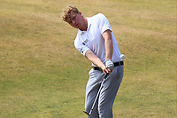 Alan Fahy (Dun Laoghaire) on the 14th during Round 2 - Strokeplay of the North of Ireland Championship at Royal Portrush Golf Club, Portrush, Co. Antrim on Tuesday 10th July 2018.<br /> Picture:  Thos Caffrey / Golffile