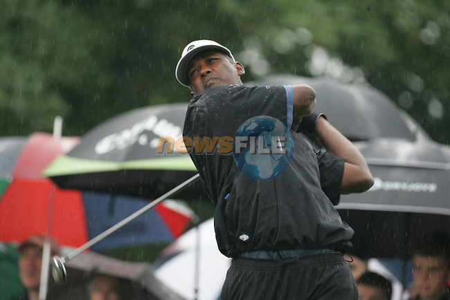 Vijay Singh during his final round of the BMW PGA Championship on the 27th of May 2007 at the Wentworth Golf Club, Surrey, England. (Photo by Manus O'Reilly/NEWSFILE)