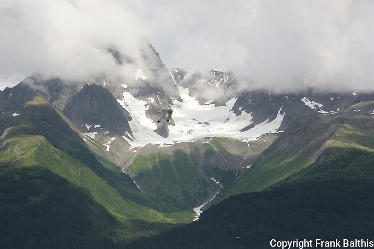 Peaks on Resurrection Peninsula