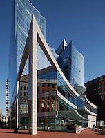 Intercontinental Hotel, Boston, MA (water side) (Elkus Manfredi = architect)
