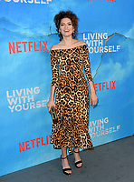 "LOS ANGELES, USA. October 17, 2019: Blanca Blanco at the premiere of ""Living With Yourself"" at the Arclight Theatre, Hollywood.<br /> Picture: Paul Smith/Featureflash"