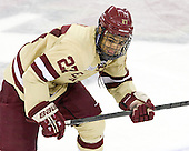 Quinn Smith (BC - 27) - The Boston College Eagles defeated the visiting Northeastern University Huskies 3-0 after a banner-raising ceremony for BC's 2012 national championship on Saturday, October 20, 2012, at Kelley Rink in Conte Forum in Chestnut Hill, Massachusetts.