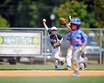 The Oxford Rebels' Payton Bjork (13) celebrates a diving catch vs. Oxford Landsharks in the Legends of the Fall Tournament, at FNC Park in Oxford, Miss. on Sunday, September 1, 2013.