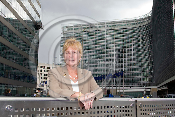 BRUSSELS - BELGIUM - 18 SEPTEMBER 2007 -- Ulla SIRKEINEN, the head of the Brussels office of the Confederation of Finnish Industries (EK). -- PHOTO: JUHA ROININEN / EUP-IMAGES