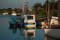 Europe/France/Aquitaine/33/Gironde/Jau-Dignac-Loirac:  le Port de Goulée