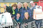 Shop Local: Listowel retailers out in force this week with the Listowel Chamber of Commerce encouraging shoppers to shop local. Front l-r Damian Stack (Stack's Furniture) and Jillian Finucane (Footprints). Back l-r Maire Logue (Chamber of commerce), Maurice Carroll (MJ Carrolls), Carmel Moloney (Carmel's Newsagents) and Brendan Maloney (Butcher).