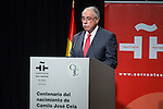 Spanish son of Camilo Jose Cela, Camilo Jose Cela Conde during the commemorating event  of the centenary of the birth of Camilo Jose Cela at Cervantes institute in Madrid. September 07, 2016. (ALTERPHOTOS/Rodrigo Jimenez)