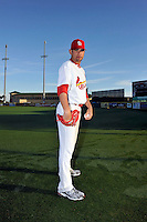 Mar 01, 2010; Jupiter, FL, USA; St. Louis Cardinals  pitcher Jamie Garcia (54) during  photoday at Roger Dean Stadium. Mandatory Credit: Tomasso De Rosa/ Four Seam Images