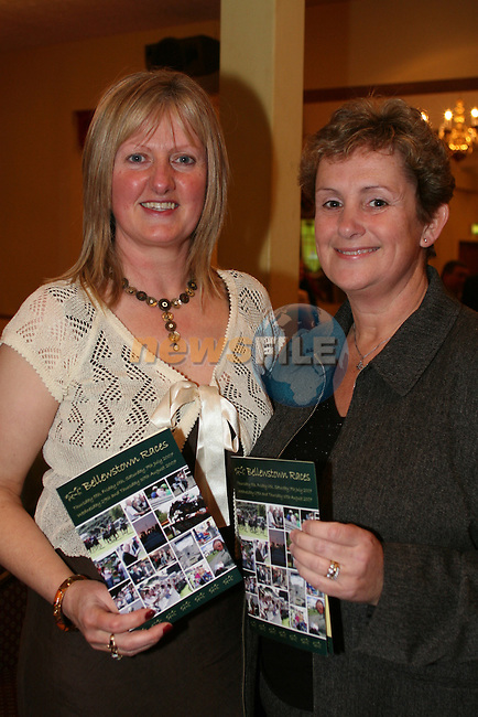 Ann Coleman and Paula Connolly at the launch of the Bellewstown Races at the Boyne Valley Hotel...Photo NEWSFILE/Jenny Matthews.(Photo credit should read Jenny Matthews/NEWSFILE)....This Picture has been sent you under the condtions enclosed by:.Newsfile Ltd..The Studio,.Millmount Abbey,.Drogheda,.Co Meath..Ireland..Tel: +353(0)41-9871240.Fax: +353(0)41-9871260.GSM: +353(0)86-2500958.email: pictures@newsfile.ie.www.newsfile.ie.FTP: 193.120.102.198.
