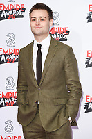 Douglas Booth<br /> arriving for the Empire Film Awards 2017 at The Roundhouse, Camden, London.<br /> <br /> <br /> &copy;Ash Knotek  D3243  19/03/2017