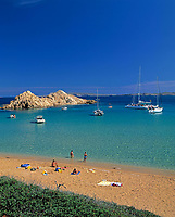 ESP, Spanien, Balearen, Menorca, Cala Pregonda: stille Bucht im Norden | ESP, Spain, Balearic Islands, Menorca, Cala Pregonda: quiet bay in the north
