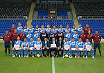 St Johnstone FC photocall Season 2016-17 Premier Sock Tape<br />