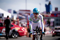 Miguel 'Superman' Angel Lopez (COL/Astana) rolling in at the finish<br /> <br /> stage 10 (ITT): Jurançon to Pau (36.2km > in FRANCE)<br /> La Vuelta 2019<br /> <br /> ©kramon