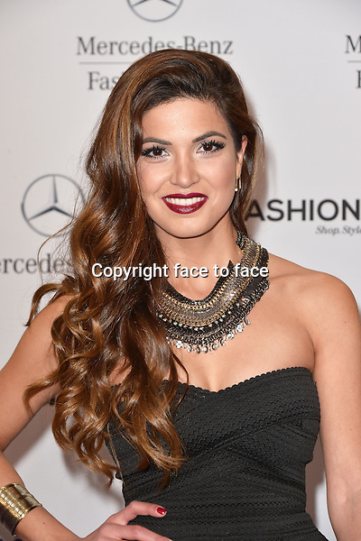 Negin Mirsalehi (winner of Most Promising Fashion Blog) attending the STYLIGHT Fashion Blogger Awards fashion show during the Mercedes-Benz Fashion Week Autumn/Winter 2013/14 Berlin in Berlin 13.01.2014. Credit Timm/face to face