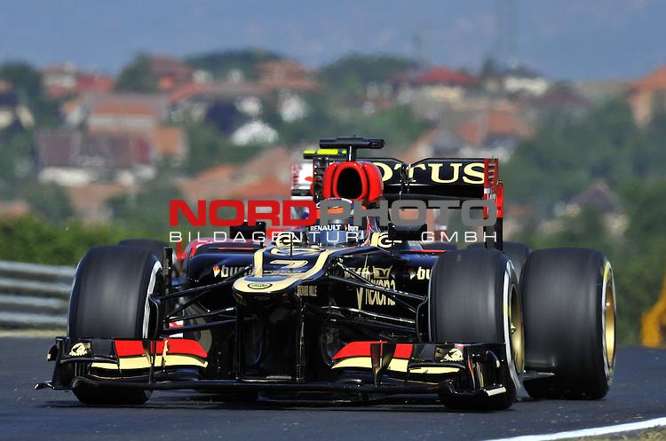 25. - 28.07.2013, Hungaroring, Budapest, HUN, F1, Grosser Preis von Ungarn, Hungaroring, im Bild  Kimi Raikkonen (FIN), Lotus Renault F1 Team <br />  Foto &not;&copy; nph / Mathis