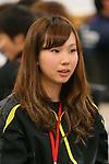 Misaki Oshigiri, APRIL 21, 2013 : The Building up Team Japan 2013 for Sochi at Ajinomoto NTC, Tokyo, Japan. (Photo by AFLO SPORT)
