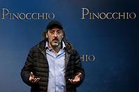 Massimo Ceccherini as 'the fox'<br /> Rome December 12th 2019. Pinocchio Photocall in Rome<br /> Foto Samantha Zucchi Insidefoto