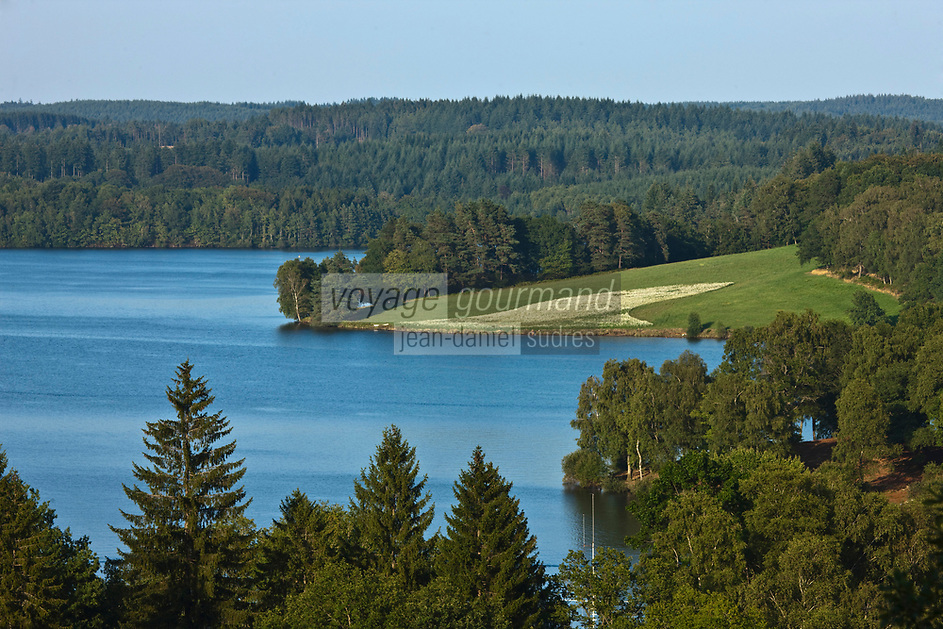 Europe/France/Limousin/23/Creuse: Lac de Vassivière - L'Ile de Vassivière