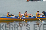 Action from the Juvenile Races at.Caherciveen Regatta on Saturday.