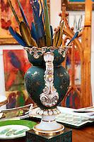 vintage antique vase